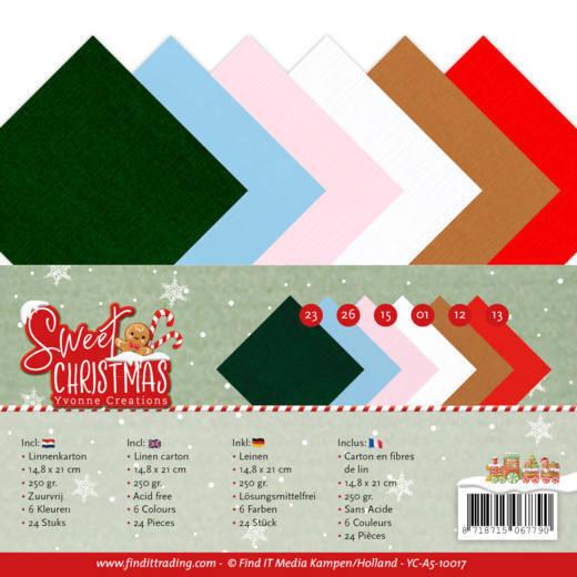 Linnenpakket - A5 - Yvonne Creations - Sweet Christmas