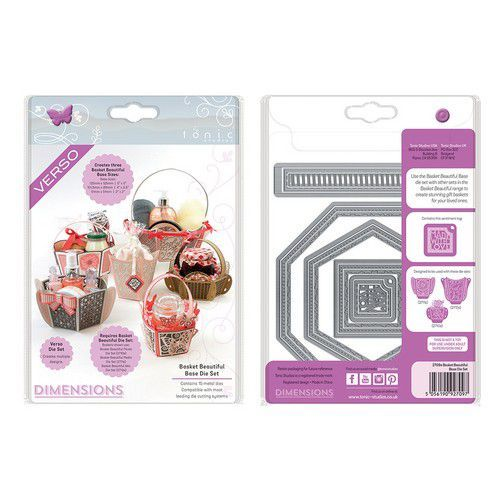 Tonic Studios Die - Dimensions Basket Beautiful Base set 2710E (10-19)