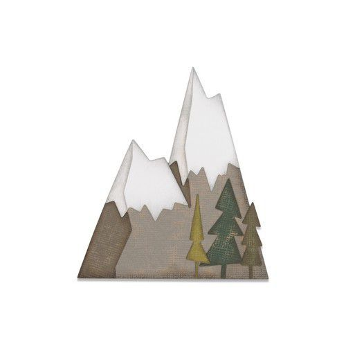 Sizzix Thinlits Die  set -  7PK Alpine 664225 Tim Holtz (10-19)