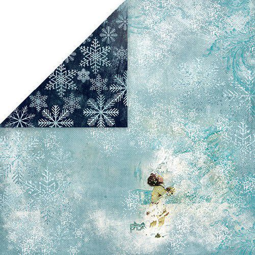 Craft&You North Wind Scrapbooking single paper 12x12 CP-NW02 (09-19)