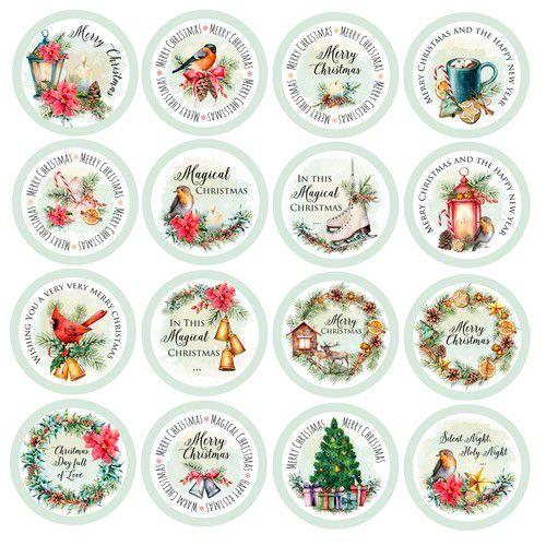 Craft&You Christmas Vibes Die-cuts -Chrisctmas Vibes - (Eng) CP-CV11 (09-19)