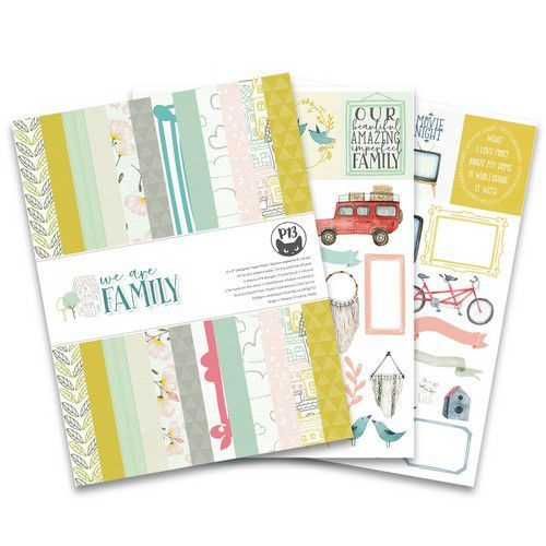 Piatek13 - Paper pad We are family P13-FAM-10 6x8 (09-19)