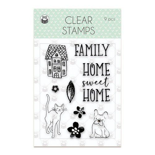 Piatek13 - Clear stamp set We are family 01 P13-FAM-30 (09-19)
