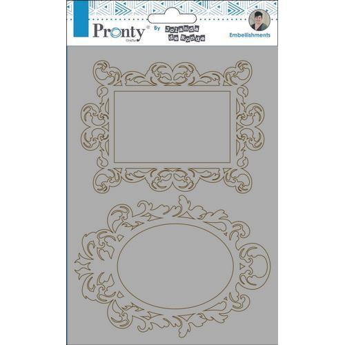 Pronty Chipboard Barok frames  A5 492.010.004 by Jolanda (09-19)