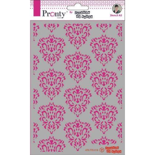 Pronty Mask Barok pattern  A5 470.770.018 by Jolanda (09-19)