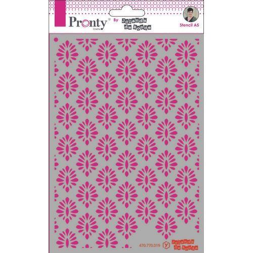 Pronty Mask Barok pattern 1  A5 470.770.019 by Jolanda (09-19)