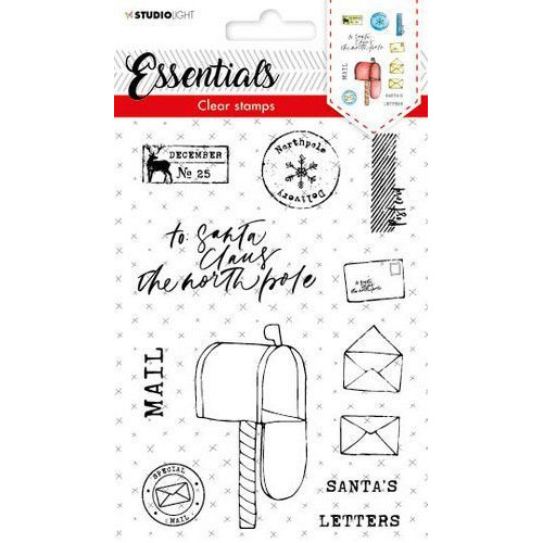 Studio Light Stamp A6 Essentials nr  415 STAMPSL415 (10-19)