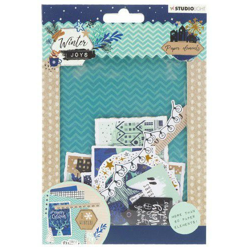 Studio Light Die Cut Paper Set Winter Joys nr 658 EASYWJ658 (10-19)
