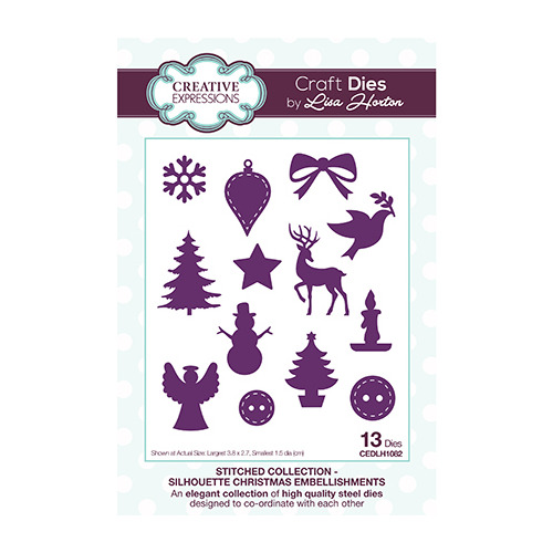 Silhouette Christmas Embellishments