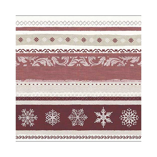 Winter Border Red