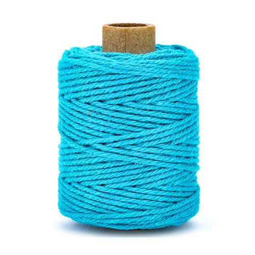 Katoenen koord, turquoise