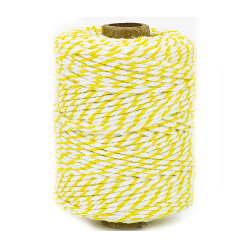 Cotton Twine cord, yellow