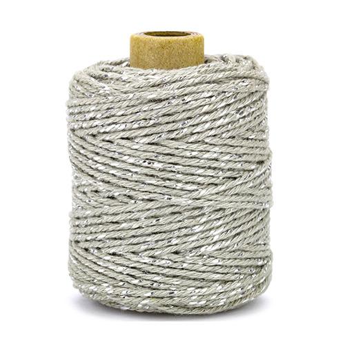 Katoenen koord luxe, zilver / grey
