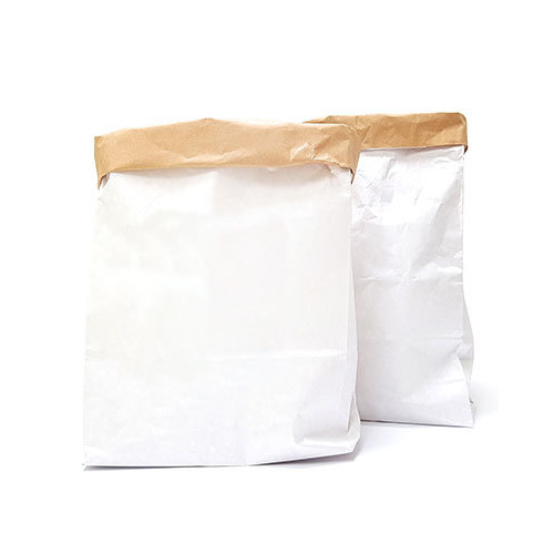 (2) Medium Paperbags blanco