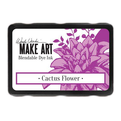 Ranger MAKE ART Dye Ink Pad Cactus Flower WVD64305 Wendy Vecchi (08-19)