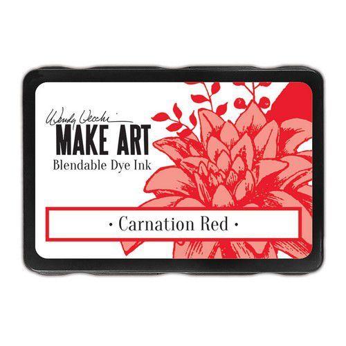 Ranger MAKE ART Dye Ink Pad Carnation Red WVD64312 Wendy Vecchi (08-19)