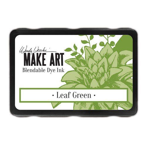Ranger MAKE ART Dye Ink Pad Leaf Green WVD64336 Wendy Vecchi (08-19)