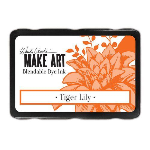 Ranger MAKE ART Dye Ink Pad Tiger Lily WVD64404 Wendy Vecchi (08-19)
