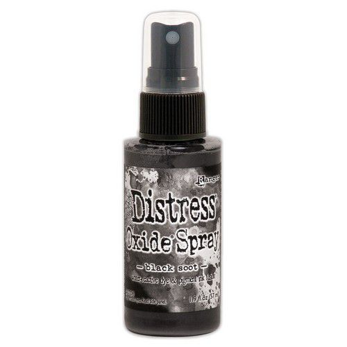Ranger Distress Oxide Spray - Black Soot TSO67566 Tim Holtz (09-19)