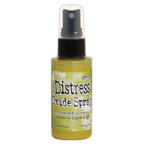 Ranger Distress Oxide Spray - Crushed Olive TSO67641 Tim Holtz (09-19)
