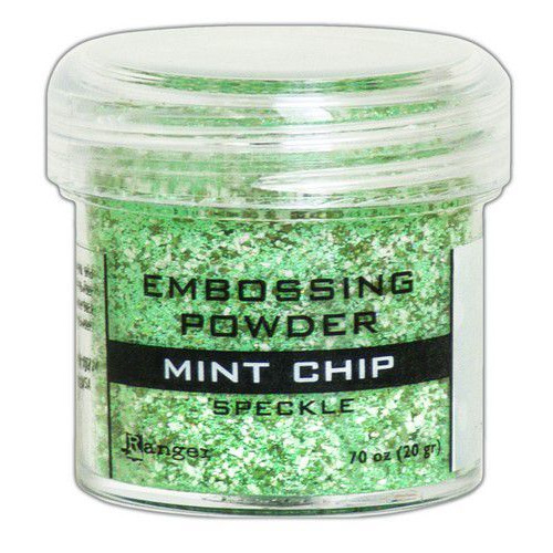 Ranger Embossing Speckle Powder 34ml - Mint Chip EPJ68679 (09-19)