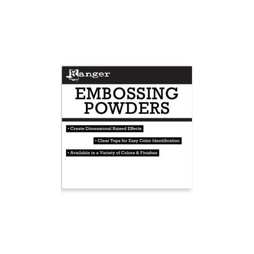 Ranger headercard - Embossing Powders HDR37668