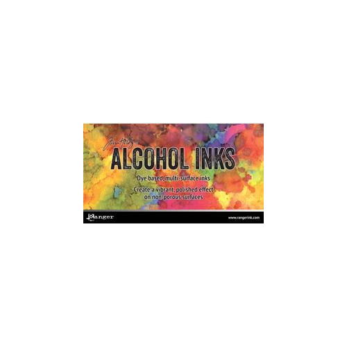 Ranger headercard - Alcohol Inks HDR55396 Tim Holtz