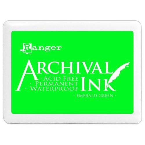 Ranger Archival Jumbo Ink pad - emerald green A3P30515