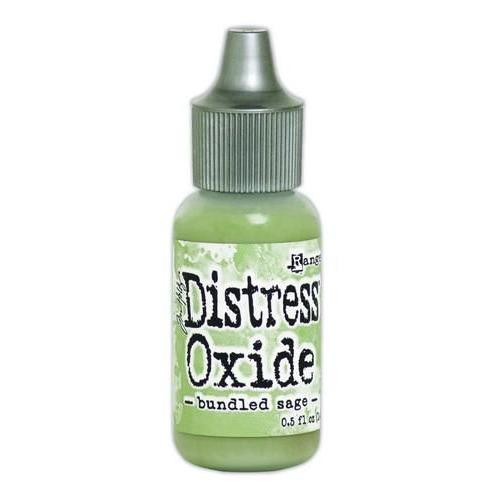 Ranger Distress Oxide Re- inker 14 ml - bundled sage TDR56959 Tim Holtz
