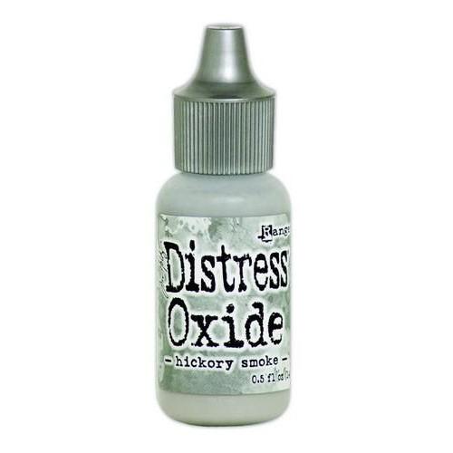 Ranger Distress Oxide Re- inker 14 ml - hickory smoke TDR57123 Tim Holtz