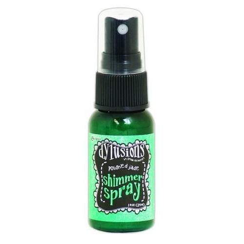 Ranger Dylusions Shimmer Spray 29 ml - polished jade DYH60840 Dyan Reaveley