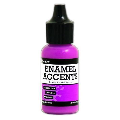Ranger Enamel Accents - wild orchid GAC48961