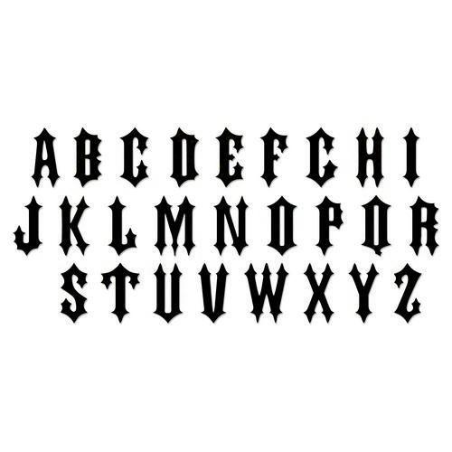 Sizzix Bigz XL Alphabet Die - Gothic