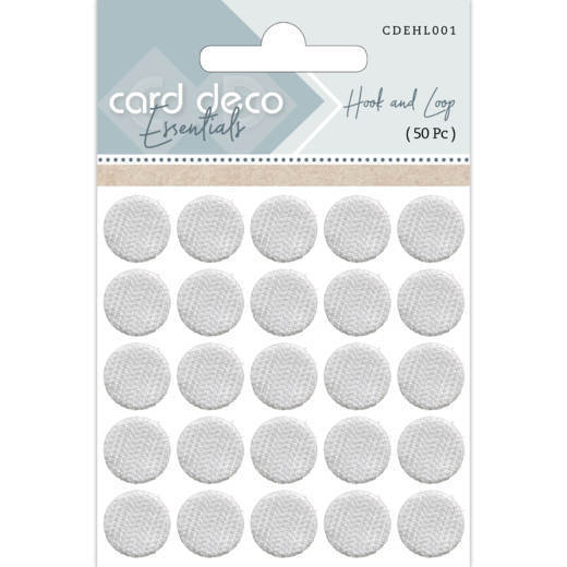 Card Deco Essentials - Hook and Loop ( 50 Pc )