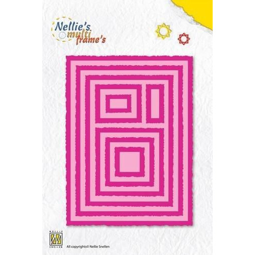 Nellies Choice Multi Frame Die - lijsten MFD069