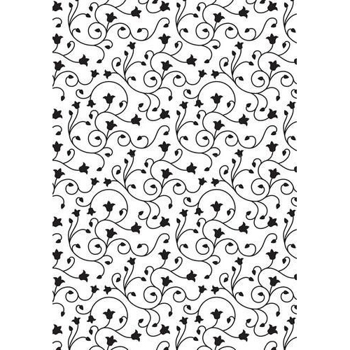 Nellie's Choice Embossing Folder Vintasia Swirl achtergrond VINF004  106x150mm