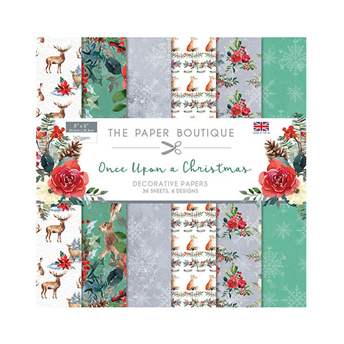 Once Upon a Christmas Paper Pad
