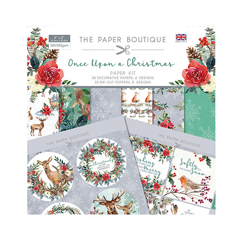 Once Upon a Christmas Paper Kit