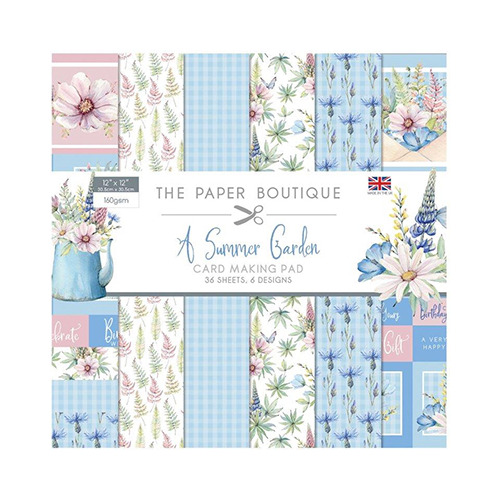 Summer Garden Card Making Pad