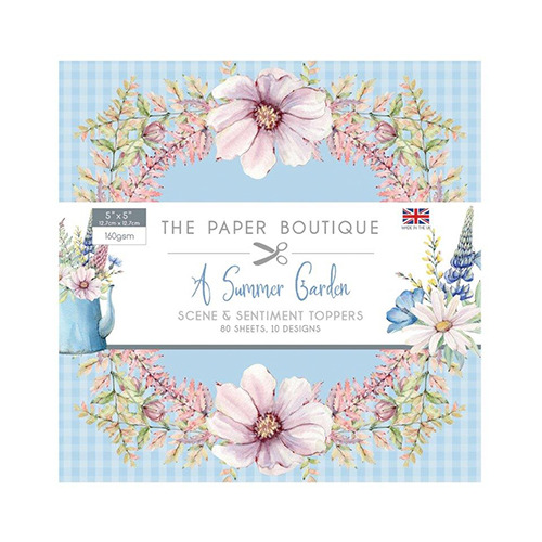 Summer Garden Sentiments Pad
