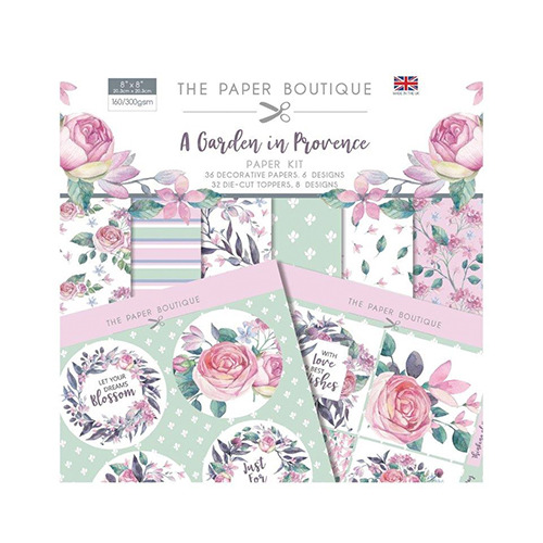 A Garden in Provence Paper Kit