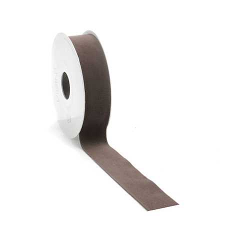 Velvet Deluxe Ribbon, Brown