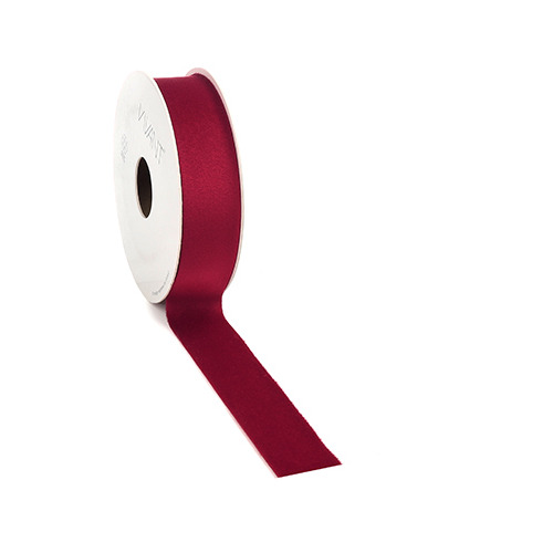 Velvet Deluxe Ribbon, Warm Red