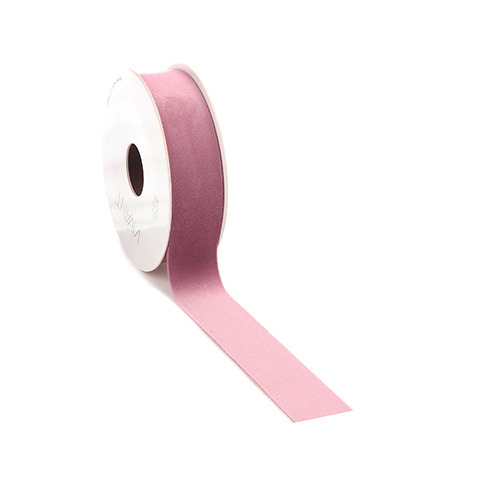 Velvet Deluxe Ribbon, Old Rose