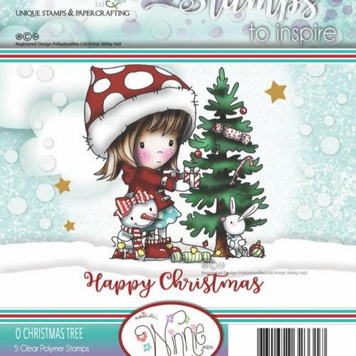 Polkadoodles stamp Winnie - O Christmas tree