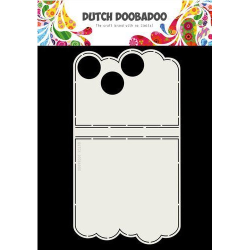 Dutch Doobadoo Card Art Mini album cirkels A4 470.713.740 (10-19)