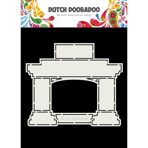 Dutch Doobadoo Card Art Fireplace A5 470.713.744 (10-19)
