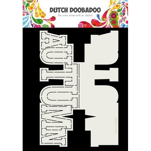 Dutch Doobadoo Card Art Autumn tekst (Eng) A4 470.713.745 (10-19)