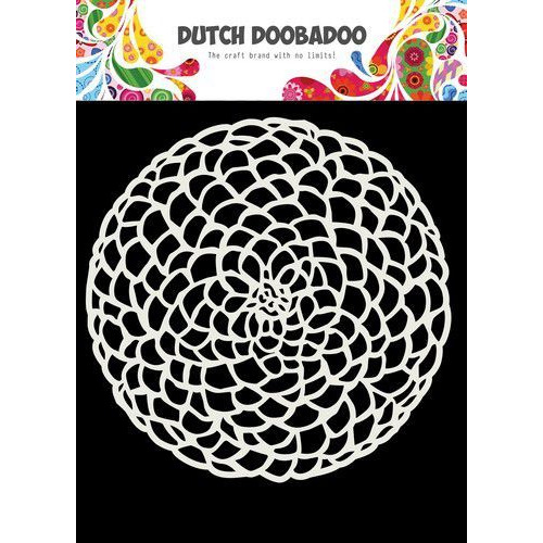 Dutch Doobadoo Dutch Mask Art 15x15cm Cirkel bloem 470.715.617 (10-19)