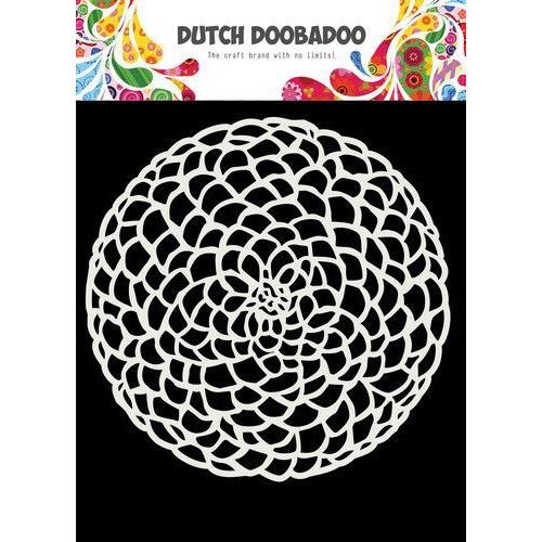 Dutch Doobadoo Dutch Mask Art 15x15cm Cirkel bloem 470.715.617